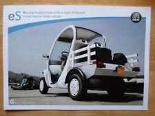 GLOBAL ELECTRIC MOTORCARS (GEM) eS Electric Utility Vehicle brochure -2008 Matra