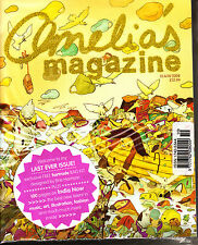 AMELIA'S MAGAZINE #10 A/W 2008 Last Ever Issue! SEALED with FREE BAG KIT @Mint@