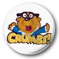"Penfold 'Crumbs!'  25mm 1"" Button Badge - Kids Retro TV 80's Novelty Dangermouse"