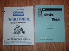CUB CADET 1050 1204 1210 1211 SERVICE MANUAL SET 2