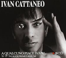 Cattaneo Ivan - A Qualcuno Piace Ivan ! 75/77/79 I Primi Album-Box 3 CD Nuovo