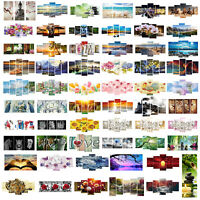 3/4/5-pictures 5D DIY Diamond Painting Embroidery Cross Crafts Stitch Home Decor