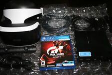 SONY PSVR PLAYSTATION PS VR GRAN TURISMO SPORT BUNDLE Factory Refurbished No Box
