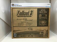 Fallout 3: Survival Edition Exclusive for PC w/ Pip Boy Clock SEALED RARE