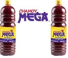 Mega Chamoy 2 Bottles 1Lt each, Fruit & Snacks Seasoning, Sweet & Sour Souce