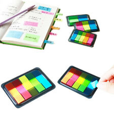 Small Paper Hot Sticky Notes Memo Pad Post-It Notes Notebook Tab Diary Office
