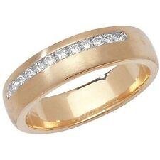 Band Round I1 Fine Diamond Rings
