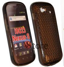Housse De Couverture Gel TPU Noir pour SAMSUNG NEXUS S I9020 silicone