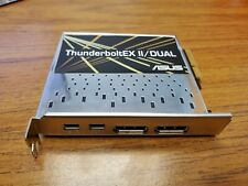 ASUS ThunderboltEX II/DUAL Lightning Double Interface Expansion Card