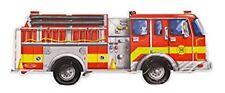 Melissa & Doug Giant Fire Engine Floor Puzzle (24 pcs, 1.2m long) 10436