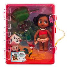 Official Disney Moana Animators Collection Mini Doll Playset