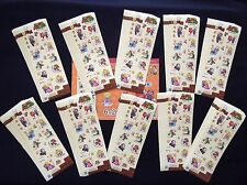 SUPER MARIO Greeting Stamp Sheet x 100 Set Nintendo Limited Edit. Sale 6/28/17'