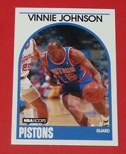 # 188 VINNIE JOHNSON DETROIT PISTONS 1989 NBA HOOPS BASKETBALL CARD
