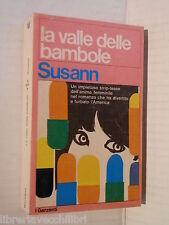 LA VALLE DELLE BAMBOLE Jacqueline Susann I garzanti 522 1974 libro romanzo di