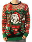 Ugly Christmas Party Sweater Men's- Unisex Dogs/ Puppies Stocking Stuffers