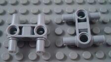 LEGO NEW Light Bluish Grey Connector #6 10x 4509886 6268924 Brick 32014 90º