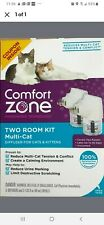 Comfort Zone Two Room Kit MultiCat 2 Diffusers and 2 Refill for Cats & Kittens