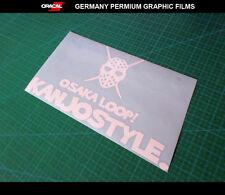 OSAKA 大阪 LOOP! KANJO STYLE JDM JAPAN Drift car Decal vinyl Sticker #011