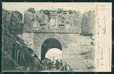 Brindisi città porta a Lecce postcard cartolina KF3388