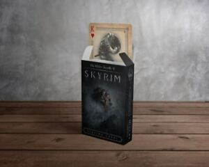 The Elder Scrolls V Skyrim Spielkarten - FaNaTtik