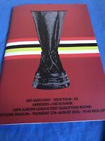 Aberdeen V NSI Runavik 27th August 2020 Europa League