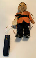 HAPPY MINER Dwarf Rare Vintage ASAHI Japan Battery Operated Tin Toy Works Great!
