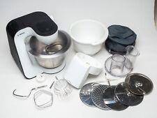 Bosch MUM52110 Küchenmaschine + 5 Schnitzelscheiben + 2. Schüssel, voll funkt.!