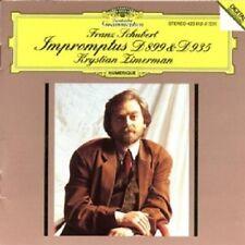 KRYSTIAN ZIMERMAN - SCHUBERT-IMPROMPTUS D 899+D 935  CD  8 TRACKS  NEU