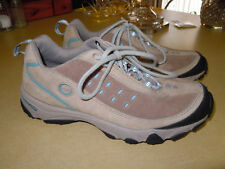 "WOMEN'S "" TIMBERLAND "" LIGHT TAN SUEDE LEATHER ATHLETIC COMFORT SHOES - SIZE 6.5"
