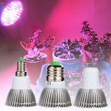 18W E27 E14 GU10 LED Grow Light Hydroponics Plants Growth Lamp Indoor Lighting