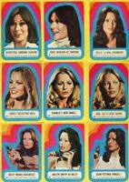 Charlie's Angels Series 3 Vintage Sticker Card Set 11 Sticker Cards #23 thru #33