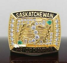 1989 Saskatchewan Roughriders The 77th Grey Cup Team Ring Souvenirs Fan Men Gift