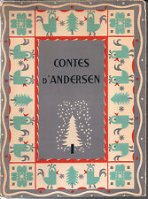 """""""CONTES D'ANDERSON"""" 1946 ILLUSTRATED PAPERBACK, LIMITED NUMBERED EDITION"""