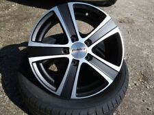 Vivaro Calibre One Piece Rim Wheels with Tyres