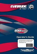 Evinrude Outboard Owners Manual 2009 E-TEC 200, 225, 250 & 300 HP Model: CX, CZ