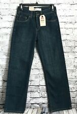 Levi's 550 Relaxed Fit Boys Denim Jeans Dark Wash New Size 14 Slim *A14