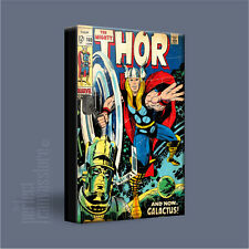 MIGHTY THOR COMIC COVERS SERIES HIGH IMPACT ICONIC CANVAS ART PRINT Art Williams