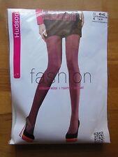 Hudson Fashion Strumpfhose gestreift Coffe-Brown Gr. 40-42