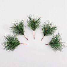 Home Decor Pine Needles Branches Artificial Plants Xmas Tree Decoration 50pcs