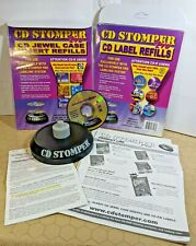 Cd Stomper Pro Cddvd Labeling System With Jewel Case Inserts Amp Cd Label Refills
