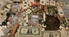 VARIETY ESTATE COIN LOT Collection Sale ~  Currency 90% Silver Bullion Bon. Gold