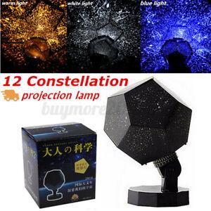 Star Ocean Sky Night Light Laser Projector Starry Galaxy Baby Room Lamp Kid Gift