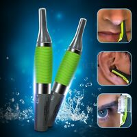 Unisex Personal Ear Nose Eyebrow Mustache Trimmer Shaver Hair Clipper Cleaner
