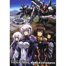 MUV-LUV ALTERNATIVE TOTAL ECLIPSE WORLD GUIDANCE analytics art book/PS3 XBOX360
