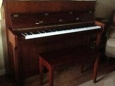 Samick upright piano and bench mint condition