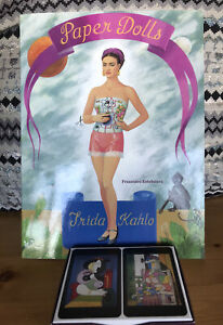 Frida Kahlo Paper Dolls And Picasso Deux Femmes Playing Cards