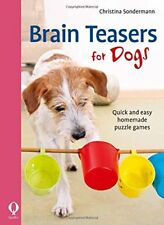 Christina Sondermann Brain Teasers for Dogs Quick very affordable paperback NEW