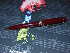 Montblanc Meisterstuck 117R Mozart Mechanical Pencil Bordeaux/Gold +Wrong Box