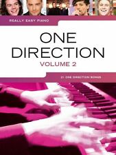 Really Easy Piano One Direction HEROS FOREVER YOUNG Beginner Chart Music Book 2