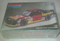 Monogram #28 Havoline Ford Thunderbird Model Kit 1:24 Scale NASCAR Sealed 1991